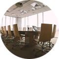 digital signage in Conference & Training centers