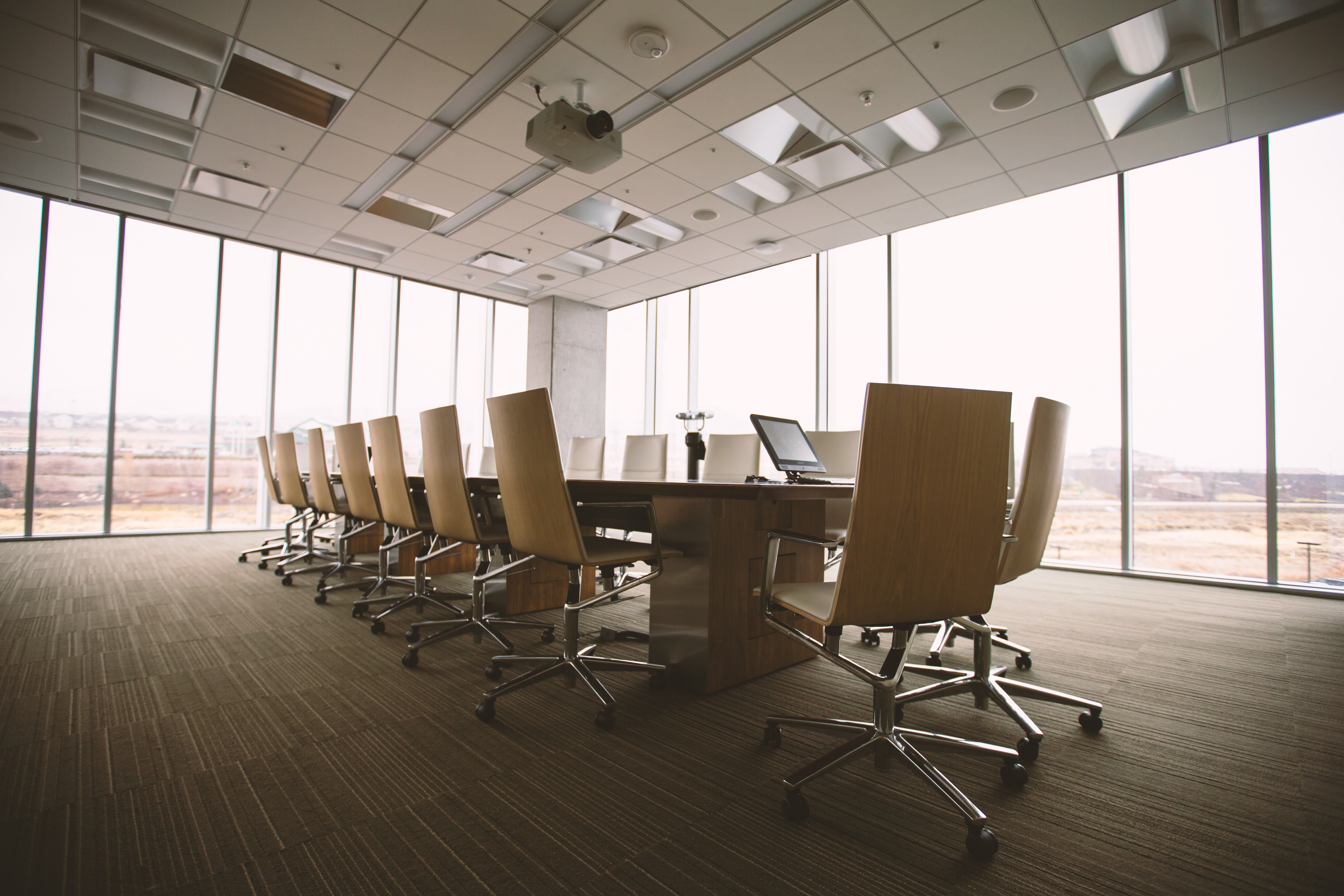 digital signage in conference rooms